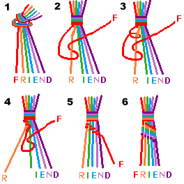 Craft Ideas Yarn on Make A Peace Friendship Bracelet  Styles Patterns History