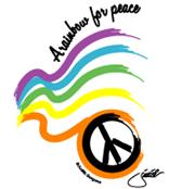 rainbow for peace