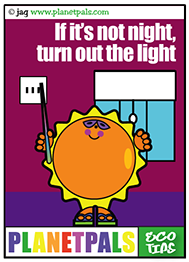 SunnyRay teaches us to conserve