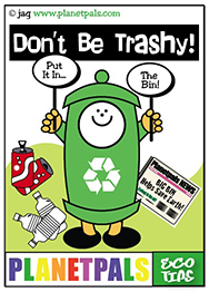 BigBin teaches us not to trash the planet