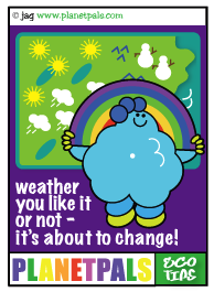 Let Fluffy Teach You about the weather