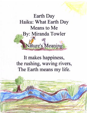 Kids EarthDay 2012 Haiku Poetry WebFest Students Teachers-Ages 7-20