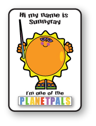 Learn about Global Warming From SunnyRay-One of the Planetpals