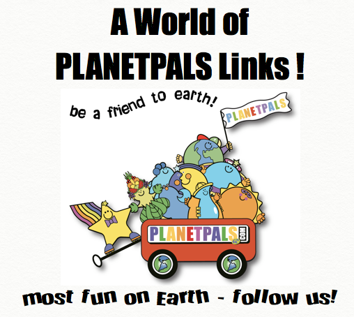 Planetpals on Social networks Links Page