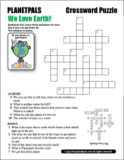 Earth Science Word Search Answers Planetpals puzzles for kids ...