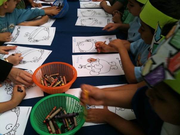 school kuwait earthday 2