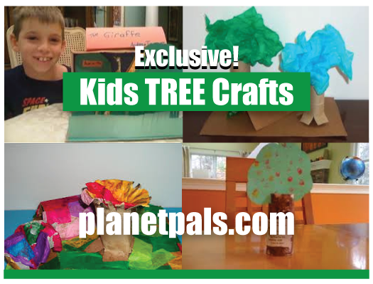 Arbor Day Recycle Crafts Kids