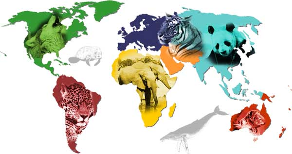 endangered species map