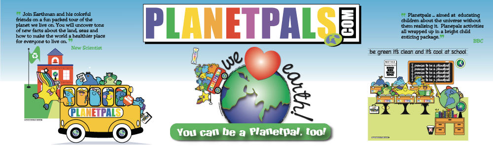 Teach Kids to Love Earth and Be a Planetpal