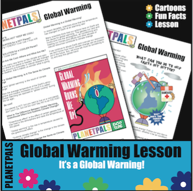 global warming text activity lesson