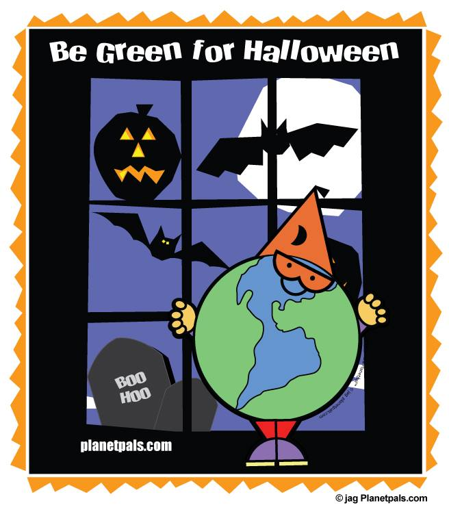 green halloween journal of ideas