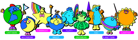planetpals characters