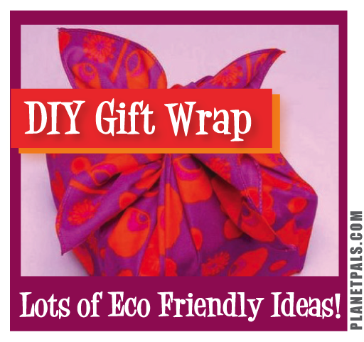 DIY Eco friendly Gift Wraps and Bows