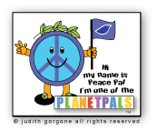 peace pal copyright judith gorgone