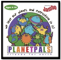 planetpals green ecokids  music cd earthday everyday