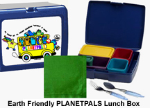 planetpals earth friendly lunch box