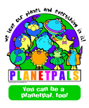 planetpals earth friendly poster