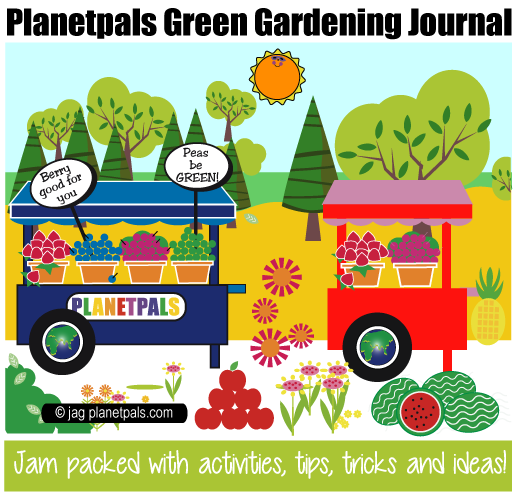 Planetpals Recycle Organic Gardening Crafts Earthday Everyday Ideas