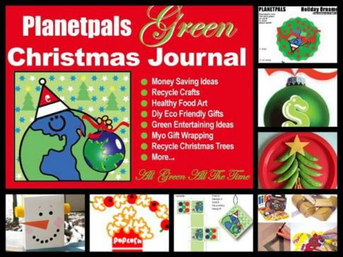 eco friendly christmas ideas crafts