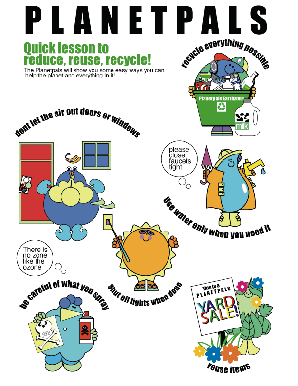 Recycle-reduce-reuse-lesson