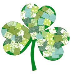 recycle craft st patricks day