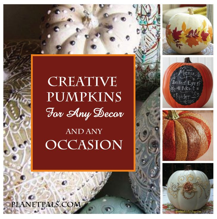 Make Fall Pumpkins that Autumn make your Holiday Decor and Yard Beautiful
