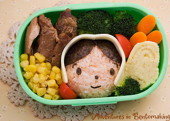 bento pilgrim edible art