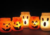 recycle milk bottle halloween ghosts