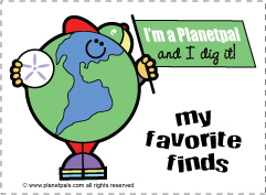 Free Earthday activity - earth archeology dig kids