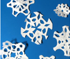 recycle paper snowflake craft