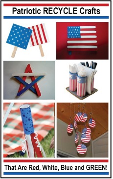 patriotic recycle crafts usa