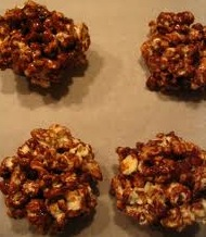 popcorn balls healthy food kids