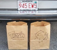 make trash bins bag