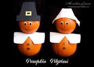 pumpkin pilgrims natural craft thanksgiving