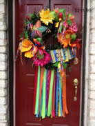 cinco mayo scrap recycle wreath