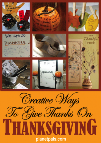 Start a New Tradition To Give Thanks for Thankgiving