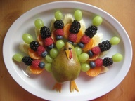 turkey food art kids