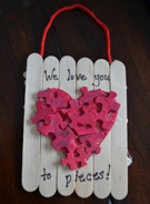 valentines recycle craft