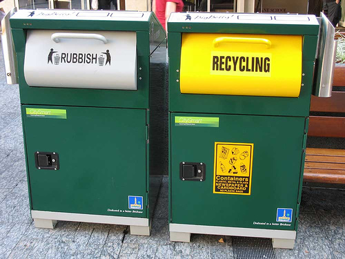 australia recycle bin
