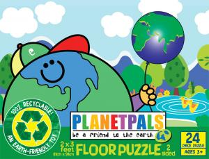Planetpals CEACO Green puzzles