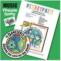 buy planetpals music CD Earthday Everyday Music