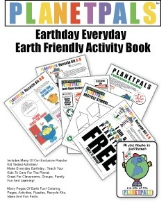 Earth day Green Educational Activity Lesson Plan Book Activities