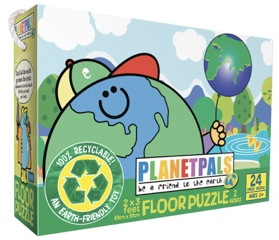 Planetpals preschool floor puzzle eco friendly