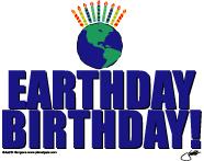 Earth Day Birthday Tshirts On Most