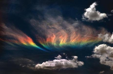 fire rainbow